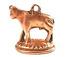 19th Century Fob Seal, Calf