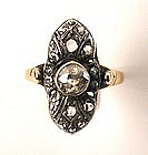 Elegant Victorian Diamond Ring, ca 1885
