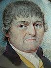 Georgian Portrait Miniature of Gentleman