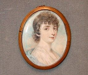 Portrait Miniature, English School, ca 1810