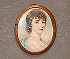 Portrait Miniature, English School, ca 1810