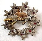 Adorable Antique Brooch, Rabbit