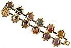 Elegant 19th C Agate Bracelet