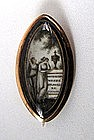 "Georgian Mourning Brooch, ""Affection Weeps"""
