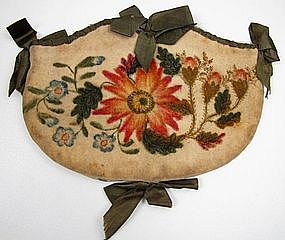 Rare Early 19th C Theorem Purse