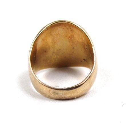 Antique 14k Gold Child's Signet Ring