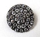 Brilliant Antique Paste Circle Brooch