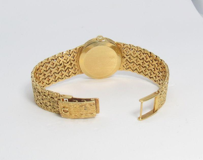 Vintage, Omega De Ville, solid 18k gold ladies watch