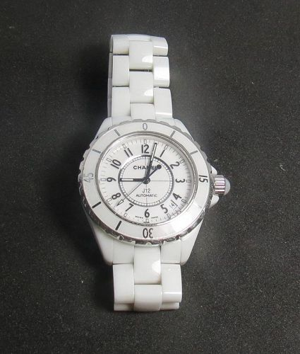 Chanel, J12 Automatic, white ceramic wrist watch