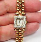 Chopard Swiss, 18k yellow gold, diamond, sapphire ladies watch