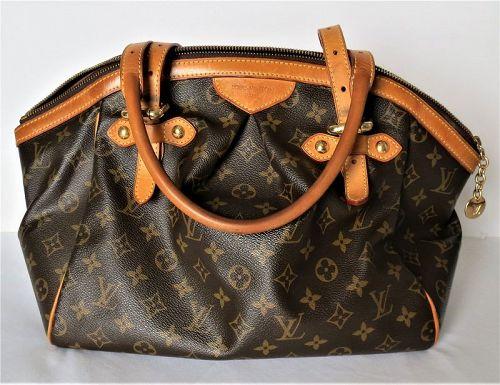 LOUIS VUITTON monogram canvas TIVOLI GM tote handbag