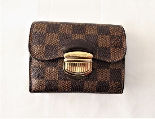 Louis Vuitton France, Damier Portefeuille Joey trifold wallet