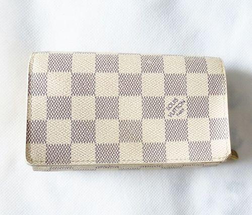 Louis Vuitton Damier Azur Porte Monnaie Tresor wallet