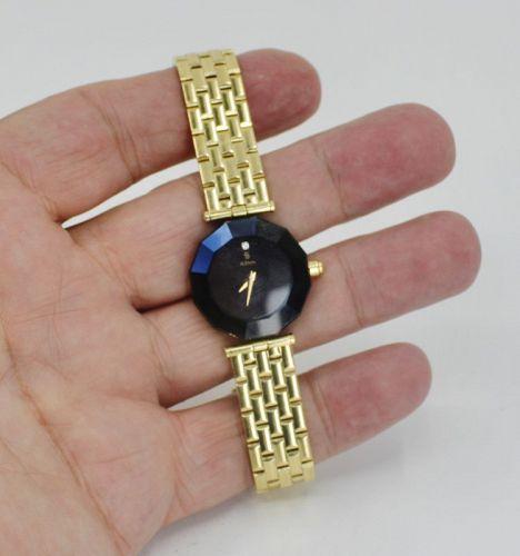 H. Stern 18k yellow gold Blue Sapphire ladies watch. 10k retail