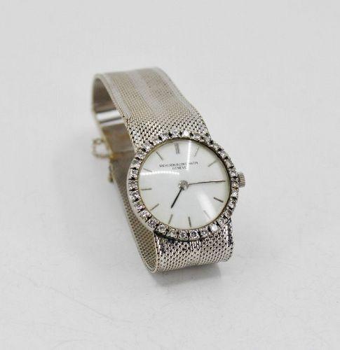 Vacheron & Constantin ladies diamond watch in 18k white gold