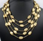 18k gold Acapulco multi-chain necklace by Marco Bicego?