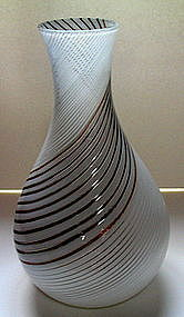 50's Murano art glass vase by Dino Martens