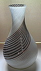 50's Murano art glass vase by Dino Martens