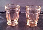 Pillar Optic Pink Whiskey Tumbler