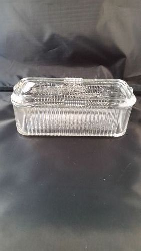 Federal refrigerator dish / clear 4 x 8