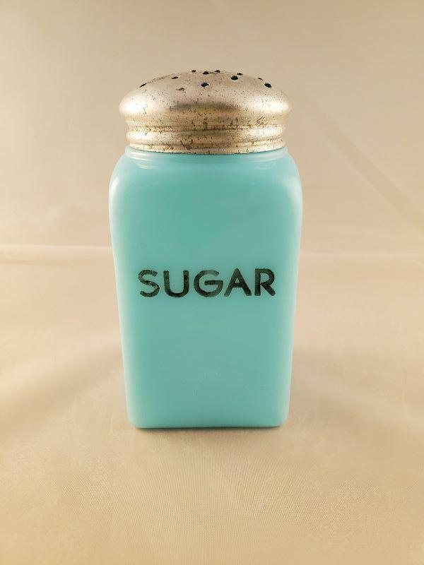 McKee Chalaine Blue Sugar shaker