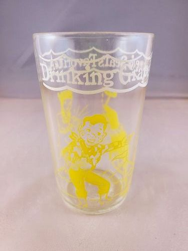 Howdy Doody Yellow Welch's Grape Jelly Glass
