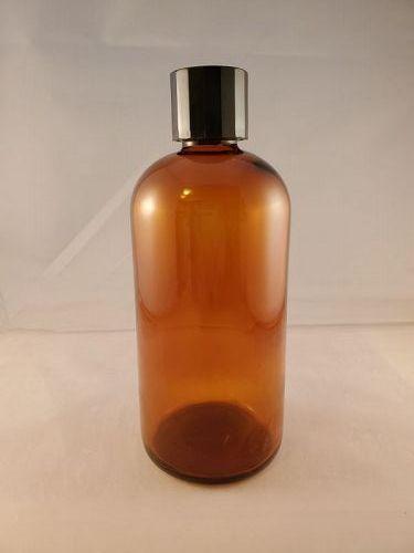 Brown Merck Medicine Bottle