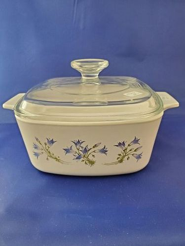 Corning Ware Blue Dusk 1.5 Liter Casserole with cover