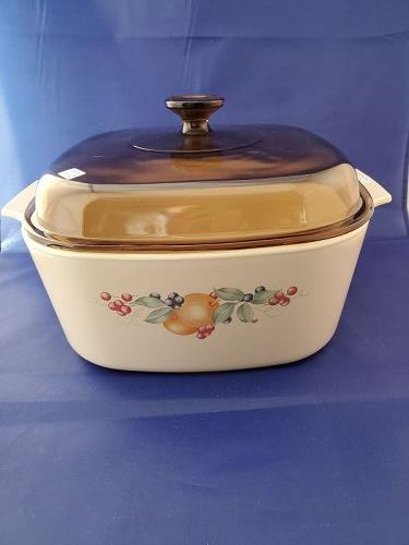 Corning Ware  Abundance 5 Liter Casserole with Brown Cover