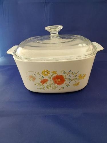 Corning Ware Wildflower 3 Quart Casserole with Cover
