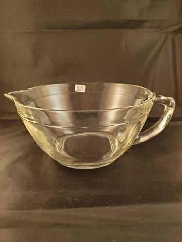 Fire King Clear Batter Bowl.