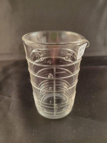Clear 4 ounce Beaker