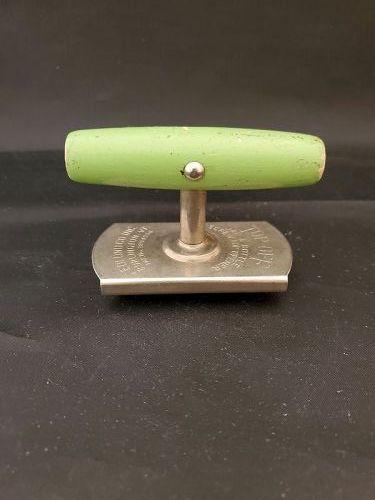 Jar Opener with Green Wood handle TOP-OFF , Burlington, VT.