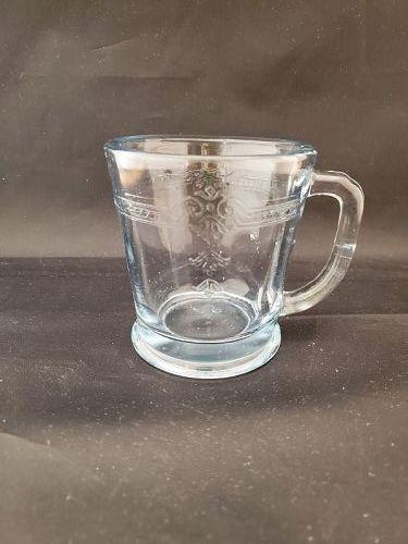 Fire King Sapphire Blue Philbe Heavy Mug