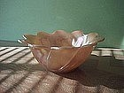 Fire King Peach Lustre Party Dessert Bowl