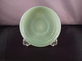 Fire King Jane Ray Jade-ite demi saucer