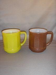 Federal Mug brown and green