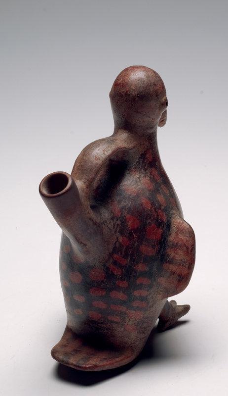 Vicus Pottery Avian Stirrup Vessel