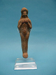 Persian, Elamite Period, Clay Fertility Goddess, Idol