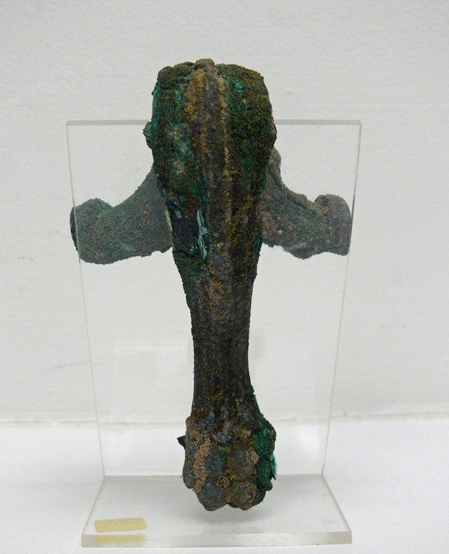 Roman Bronze Hydria Handle of Lion Foot