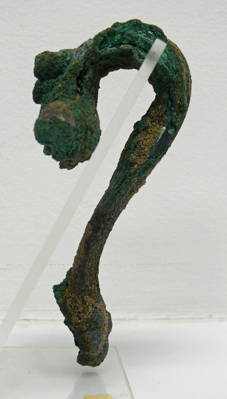 Roman Bronze Hydria Handle of Lion Foot