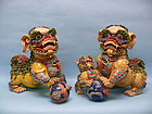 Chinese Decorative Ceramic Foo Dogs