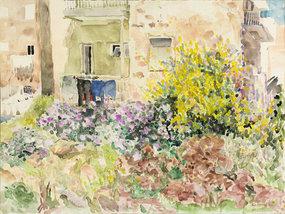 Jerusalem Garden, by Eve Menes