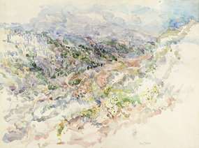 View of Jerusalem Hills, by Eve Menes