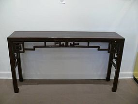 Qing Dynasty Elmwood Altar Table