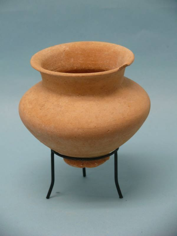 Middle Bronze Age II Carinated Pottery Bowl, Holy Land