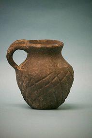 Roman Gray Terracotta Juglet