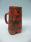 Chaco Puerco Pottery Three Lobe Pitcher