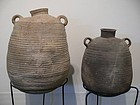 Two Roman Pottery Storage Jars