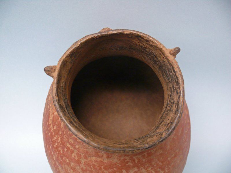 Roosevelt Red Ware Pottery Duck Effigy Jar